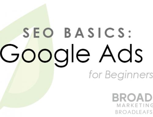 SEO Basics: Introduction to Google Ads (Part 1)